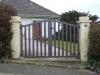portail aluminium simple