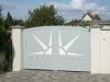 portail aluminium design moderne etoile